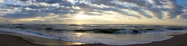 Panoramic sunrise thumbnail