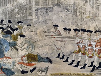 This engraving by Paul Revere offered a specific argument about what happened that day in Boston.