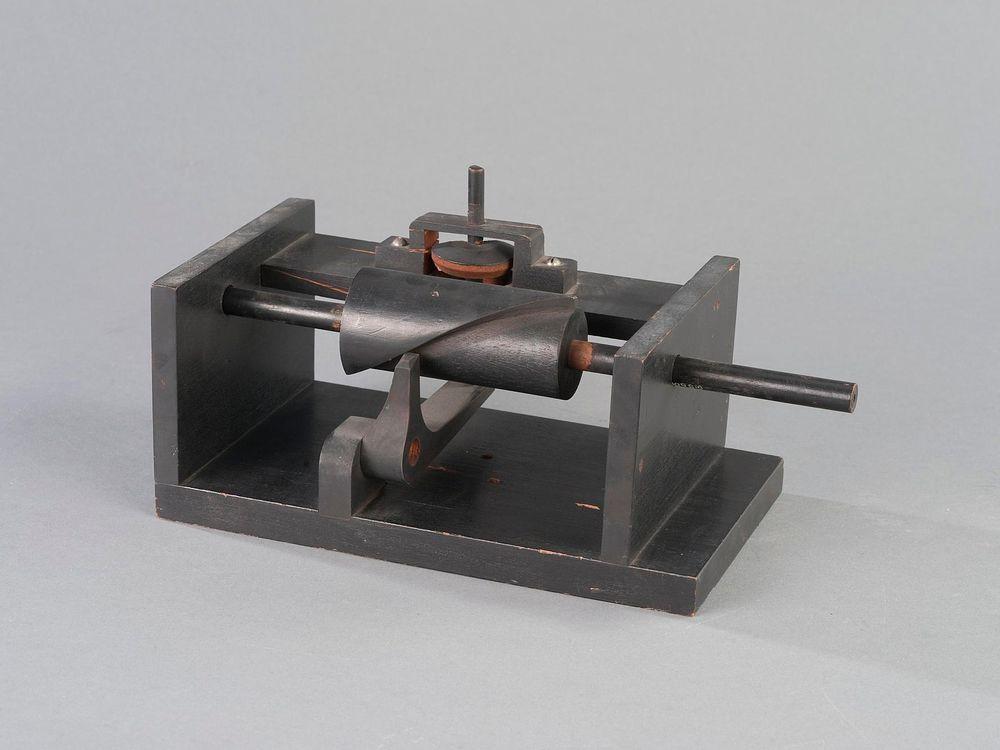 Drop Cut-Off Valve and Mechanism Model