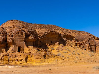 Once a thriving international trade hub, the archeological site of Hegra (also known as Mada'in Saleh) has been left practically undisturbed for almost 2,000 years.