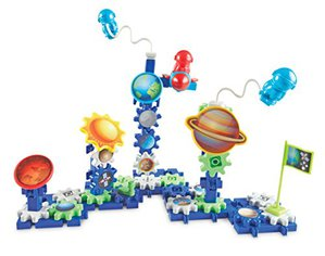 Preview thumbnail for 'Learning Resources Gears! Gears! Gears! Space Explorers Building Set, Gears & Construction Toy, 77 Pieces, Ages 4+