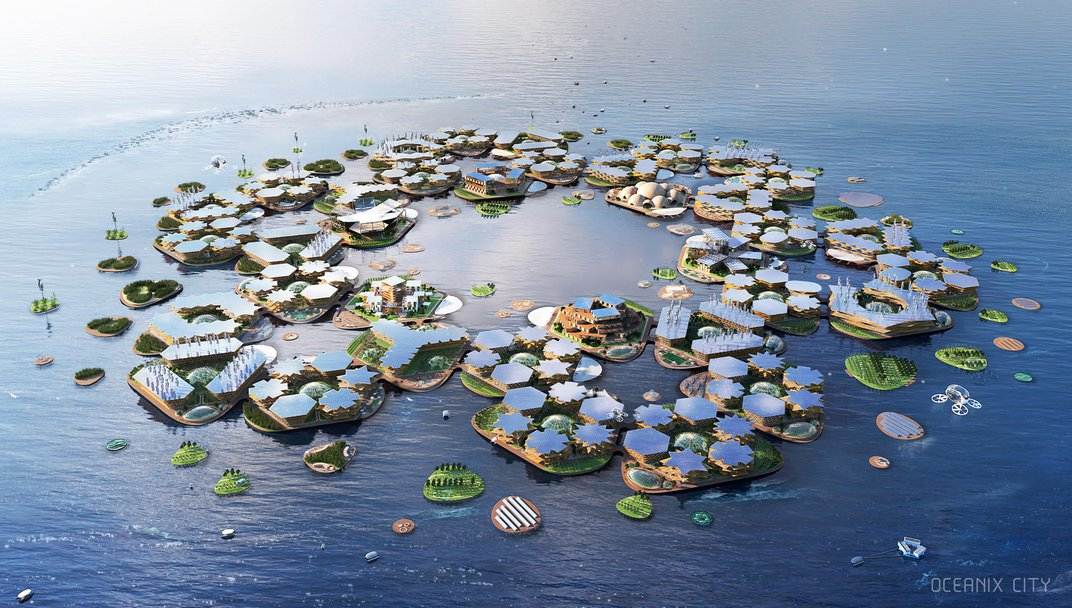 In the Face of Rising Seas, Are Floating Cities a Real Possibility?