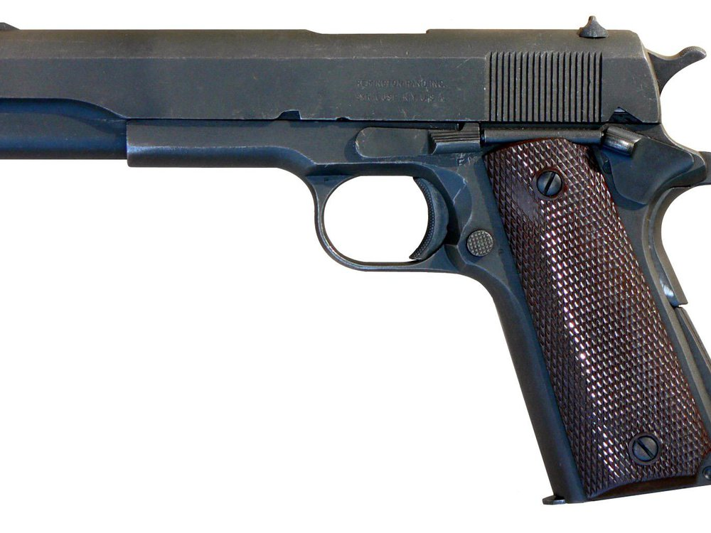 Browning M1911 pistol