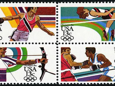 Team USA stamps