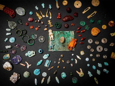 Trove of amulets unearthed in Pompeii