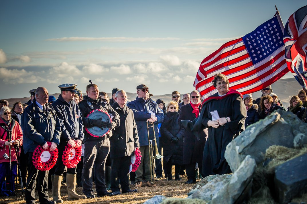 A Hundred-Year-Old Handmade American Flag Flies Home. . . to Scotland
