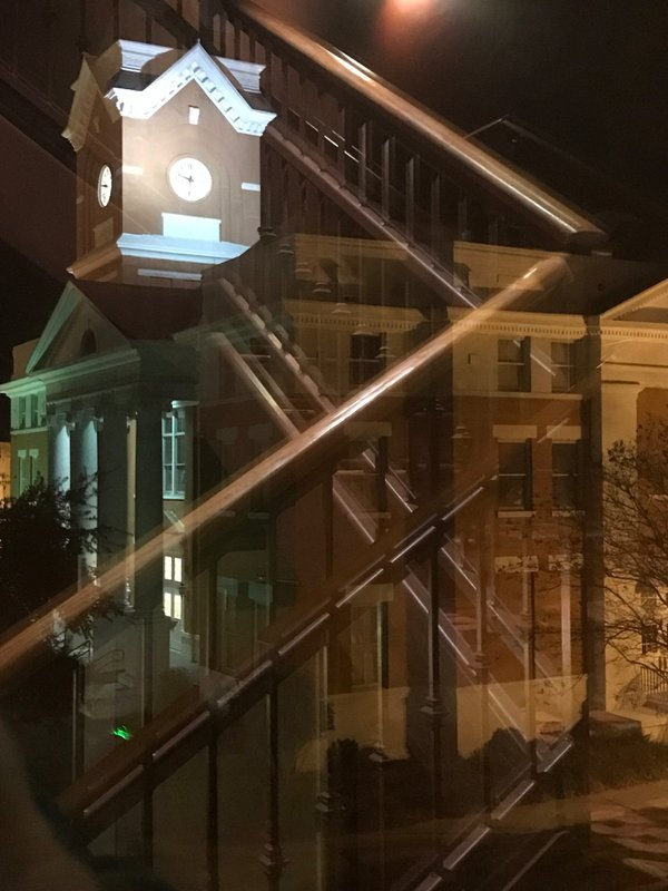 Statesboro Courthouse from the Averitt Center Stairway thumbnail