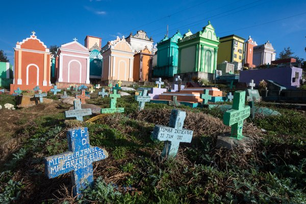 The Chichicastenango cemetery offers lots of photo ops thumbnail