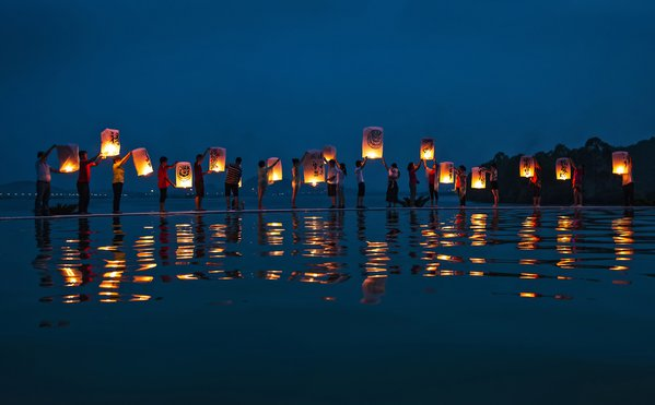 lantern festival at china thumbnail