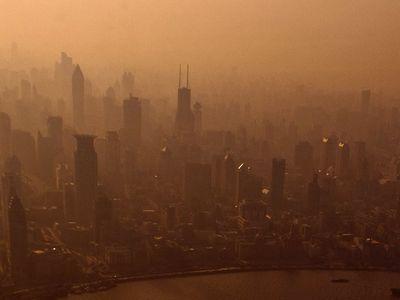 Shanghai in 2009.