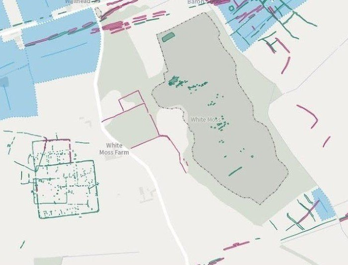 This Interactive Map Lets Users Explore England's Hidden Archaeological Landscape