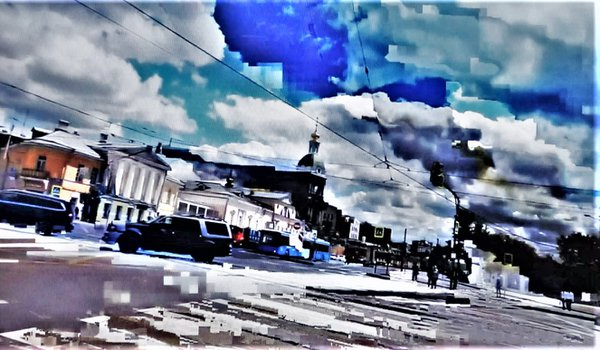 Moscow streets. Crossroads thumbnail