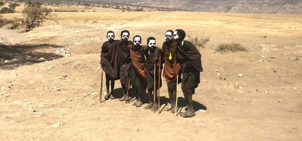 Maasai Boys Becoming Warrior Men thumbnail