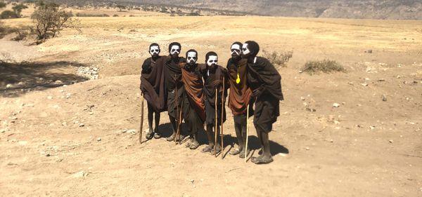 Maasai Boys Becoming Warrior Men thumbnail