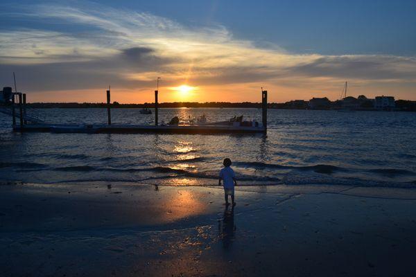 Sunset at Wrightsville Beach thumbnail