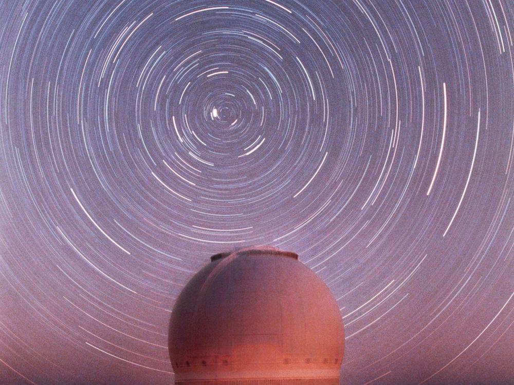 Spinning Star