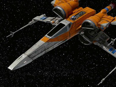 """""""Despite taking place a long time ago in a galaxy far, far away, Star Wars introduced generations of fans here on Earth to outer space as a setting for adventure and exploration,"""" says the museum's Margaret Weitekamp."""
