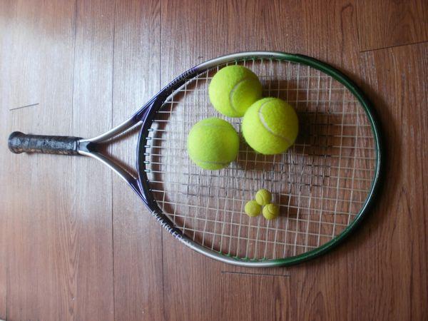 Gum and  Tennis Balls Lobbed thumbnail