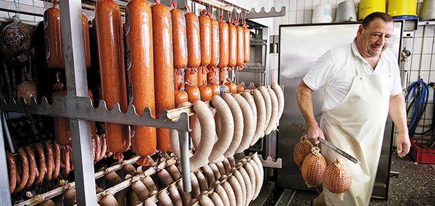 Otto Glasbrenner German sausages