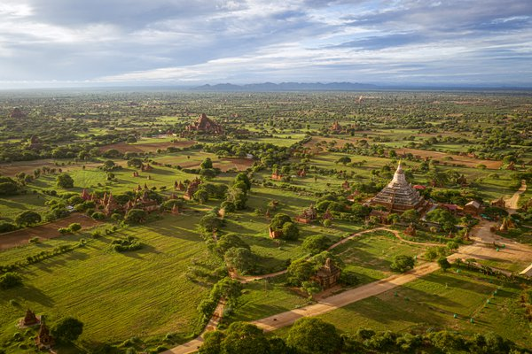 Above Beautiful Bagan thumbnail