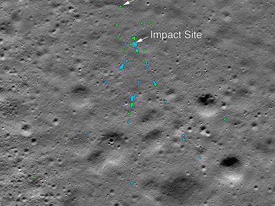 An amateur astronomer in India doggedly searched for the remnants of the country's Vikram lander after it crashed into the lunar south pole.