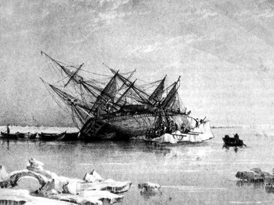 The HMS Terror was missing for nearly 170 years after it got trapped in ice and sunk in frigid Arctic waters.