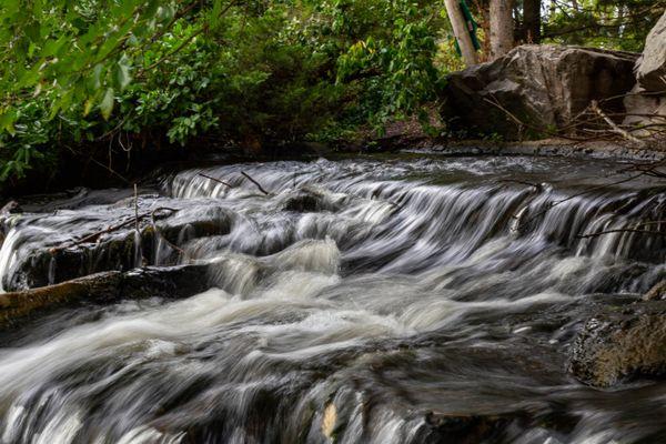 Waterfall while hiking Lake Katherine. thumbnail