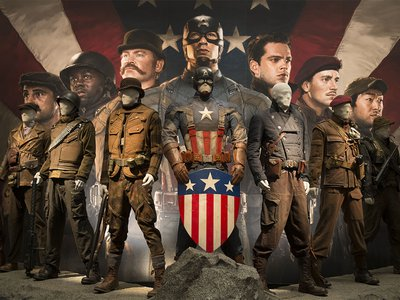 Several scenes in this month's box office smash Captain America: The Winter Soldier were filmed at the National Air and Space Museum.