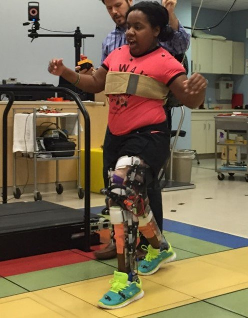 This Robotic Exoskeleton Helps Kids With Cerebral Palsy Walk Upright