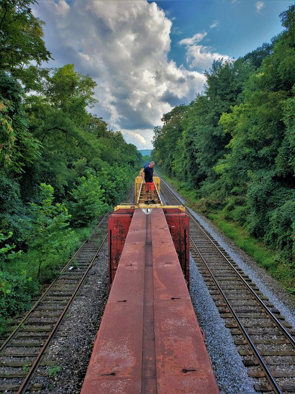 Abandoned train in Pittsburgh thumbnail