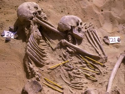 Researchers had previously theorized that the 61 people buried in the Jebel Sahaba Cemetery were the victims of a single battle or massacre. A new study suggests the remains actually belong to hunter-gatherers killed during a series of smaller raids.