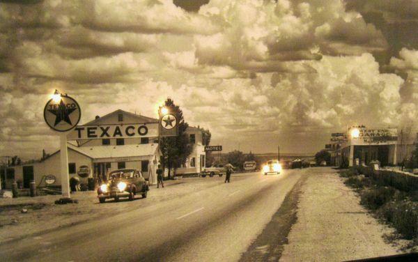 A poster of the original Route 66, Oklahoma thumbnail