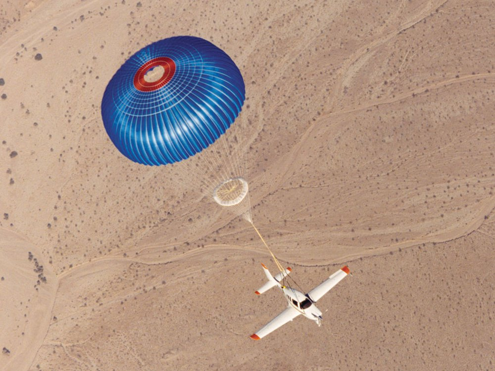 BRS parachute system 2