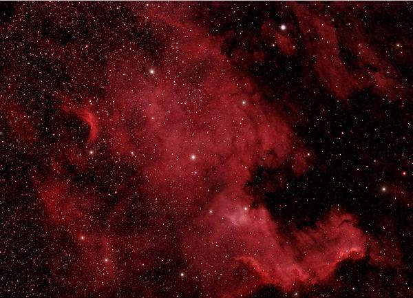 North American Nebula (in hydrogen alpha) thumbnail
