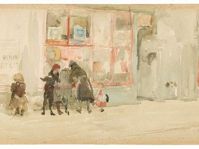 Chelsea Children by James McNeill Whistler, ca. 1997