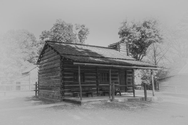 Log Cabin in Lincoln's New Salem thumbnail