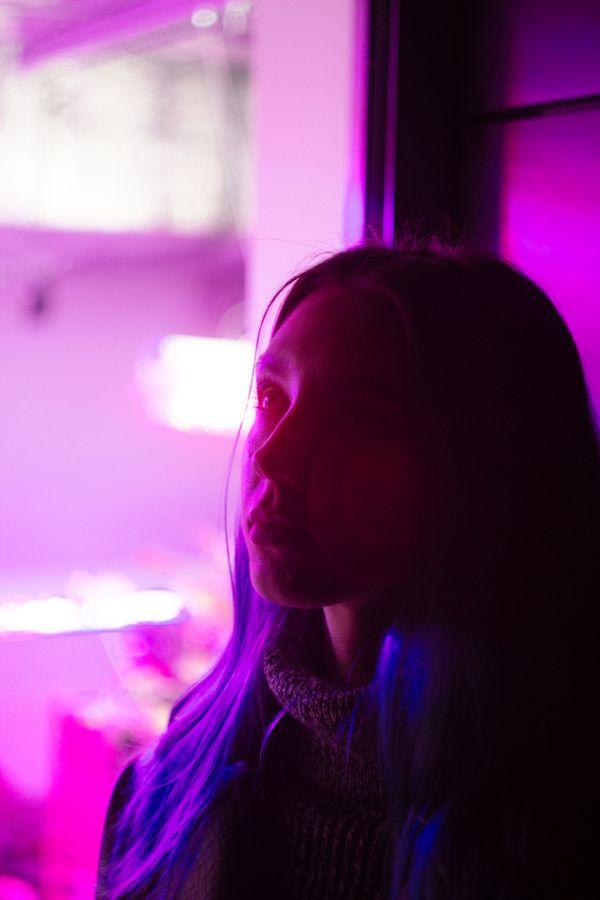Neon portrait thumbnail