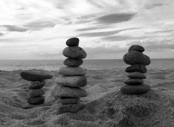 Balancing Rocks on Race Point Beach thumbnail