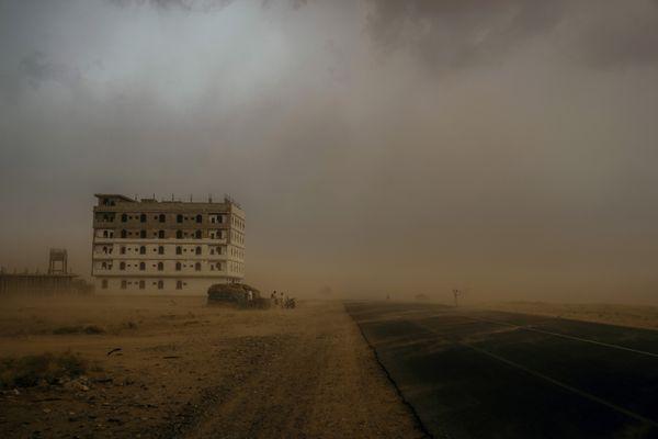Sandstorm in Northeastern Yemen thumbnail