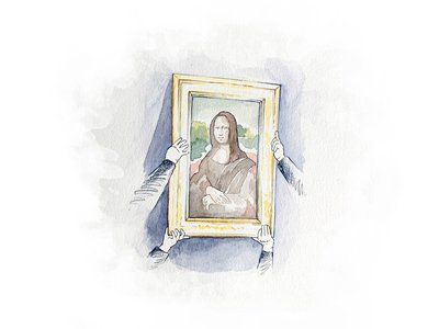 The winner (and one guest) will be invited to attend the Mona Lisa's annual inspection—one of the few times the work emerges from behind bullet-proof glass.