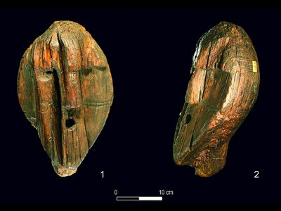 Hunter-gatherers in what is now Russia likely viewed the wooden sculpture as an artwork imbued with ritual significance.
