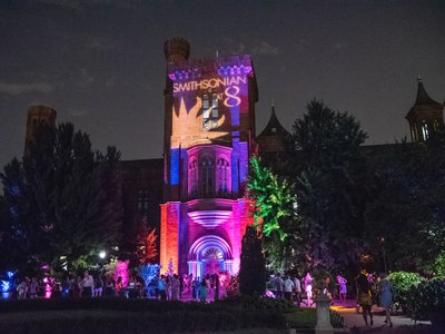 SMITHSONIAN at 8's A Garden Party: From Africa to Asia will take place Friday, Aug. 16 in the Enid A. Haupt Garden. Guests will enjoy music, cocktails, curator talks and late-night access to galleries featuring art from the African and Asian continents.