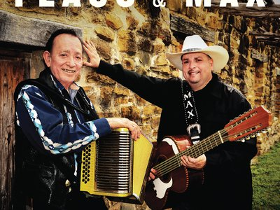 """Conjunto masters Flaco Jiménez and Max Baca team up for an album of duets, """"Legends & Legacies,"""" out this month from Smithsonian Folkways"""
