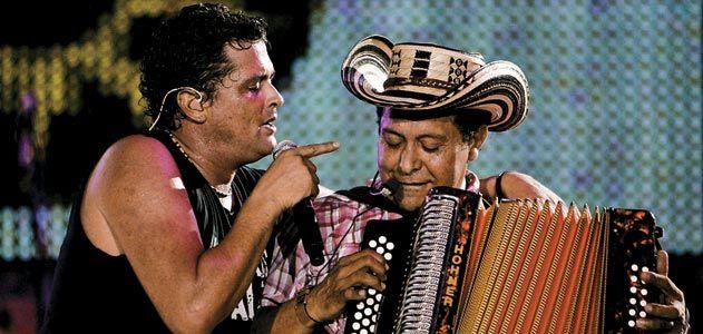 Carlos Vives and Egidio Cuadrado