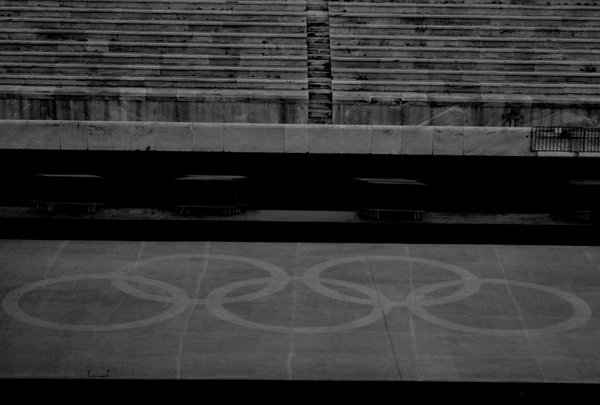The primary symbol of the Olympic Games today in Panathenaic Stadium thumbnail