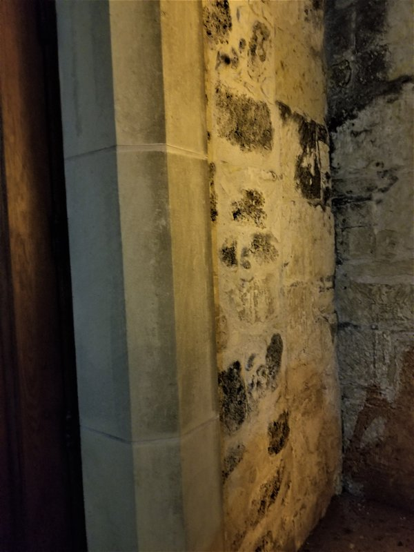 Ghost on Walls of Church. thumbnail