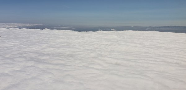 Sea of white clouds thumbnail