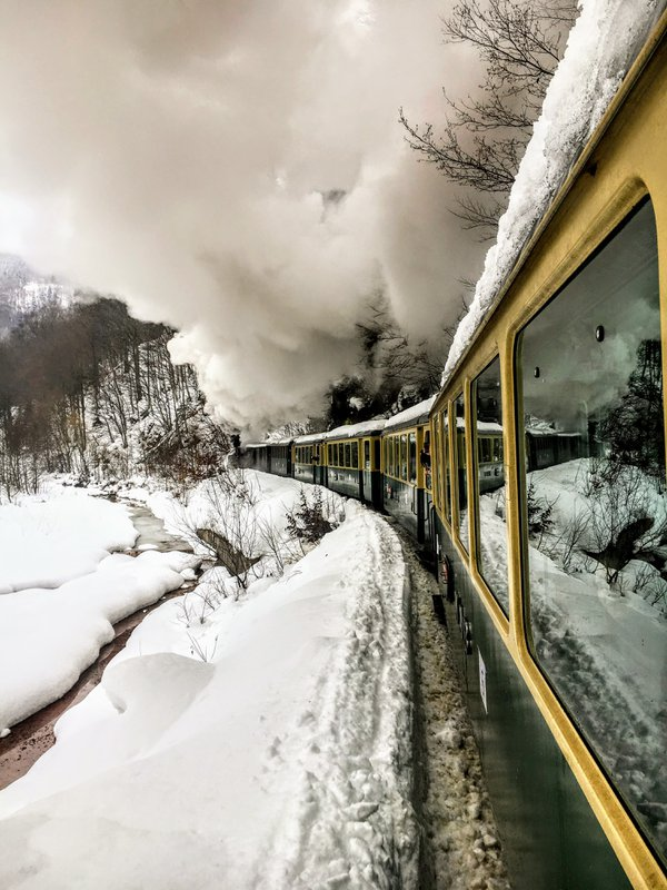 Journey on a steam train thumbnail