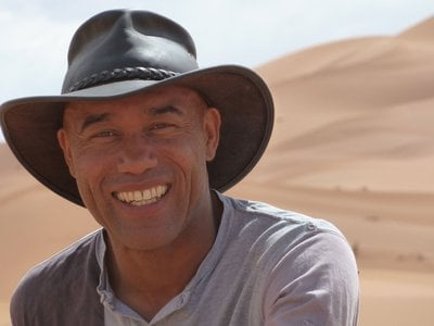 """Gold tells the """"story that colonialism sought to deny, of indigenous, structured, wonderful, cultured civilizations,"""" says the Smithsonian's Gus Casely-Hayford."""
