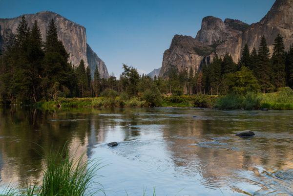 Merced River, El Capitan,  Yosemite National Park thumbnail
